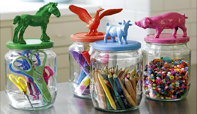 Ideas con frascos de vidrio interlazados for Ideas con frascos de vidrio