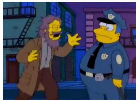 """Los Simpsons – Fin del Mundo: """"Todos se van a morir, les va a hacer auditorias"""""""