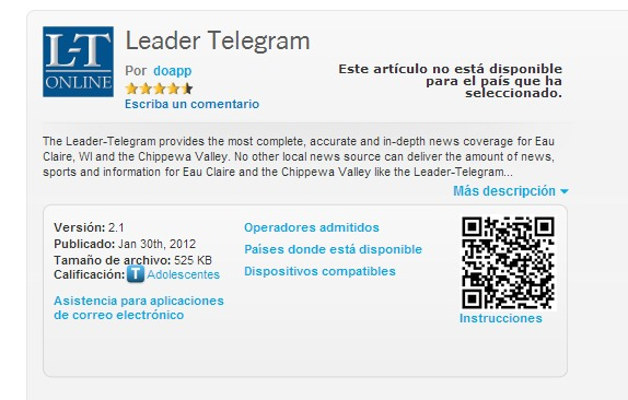 Descargar Telegram para BlackBerry