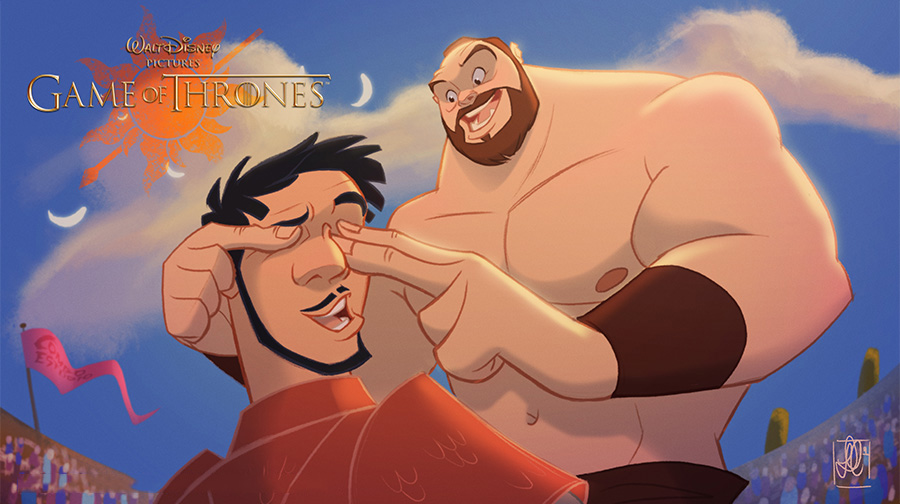 Interlazado.com_GOT- disnet_Oberyn y The Mountain