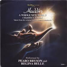A whole new world – Peabo Bryson & Regina Belle