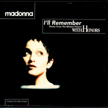 I'll remember – Madonna