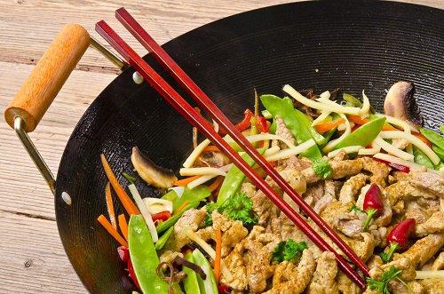 Como hacer un Wok de pollo