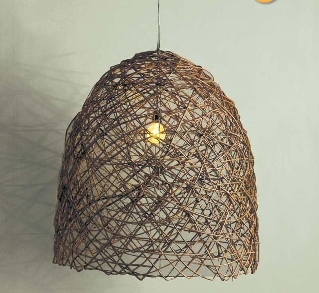 Como hacer una lámpara casera