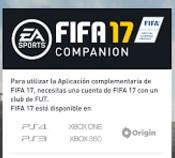 Descargar Companion App FIFA 17